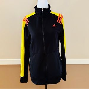 Adidas Black Zip-Up Jacket